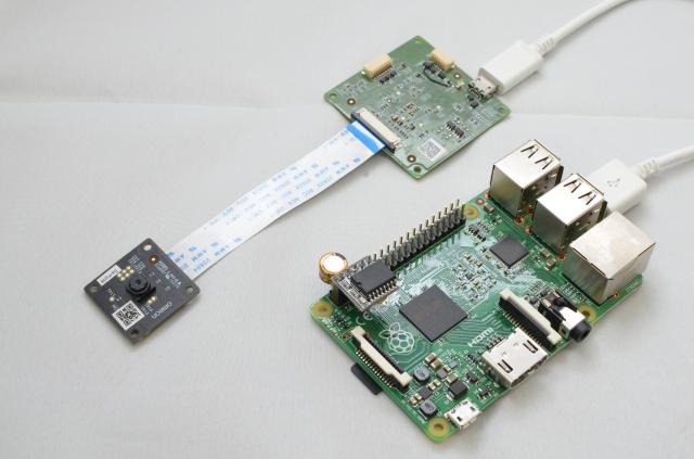 HVC-P2とSCORER対応Raspberry Pi3